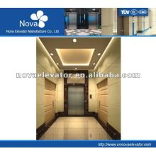 Hairline/etching/mirror stainless steel elevator for building, large load