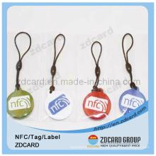 Lf / Hf Nfc RFID Smart Keytag