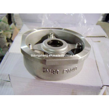 Stainless Steel Pn40 Wafer Type One-Way Valve