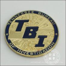 Insignia chapada en oro, artesanía de organización (GZHY-BADGE-076)