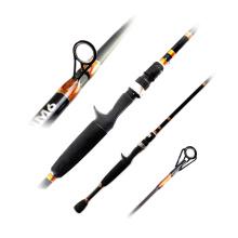 BAR012 high quality pure nano carbon fast fishing rod 200cm slim SUS ring