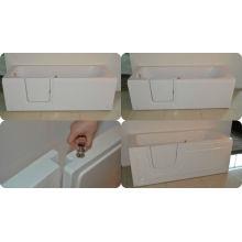 Inhabilitar bañera con puerta deslizante