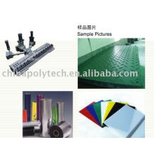 Plastic extruder: PS sheet extrusion line