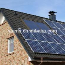 Простой в крыше ФОТОЭЛЕКТРИЧЕСКИЕ панели структуры поддержки Миниая Домашняя Солнечная электрическая система