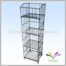 kitchen accessory durable metal wire dish display shelf