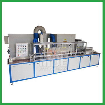 Rotor insulation treatment coil powder coating machine