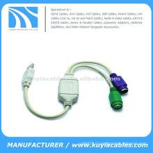 Ps2 к кабелю конвертера usb