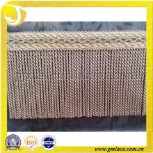 Zhejiang Textile Accessories of 100% Rayon Sofa Bullion Fringe