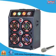 Estéreo de audio de etapa de alta fidelidad sonido de varios colores de luz altavoz F6004