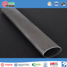Higt Quality Welded Stainless Steel Oval Pipe with ISO SGS