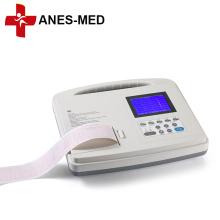 Machine portative d'ECG d'électrocardiographe de canal de la CE 100 ECG