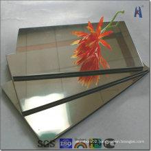 Gold and Silver Mirror Aluminium Composite Panel