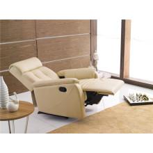 Sofá eléctrico del sofá del sofá del cuero de la calesa del cuero genuino (773)