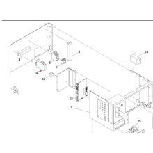 Relais SMT de Panasonic pour la machine d'impression d'écran Sp60p-M (KXFP6CJAA00)