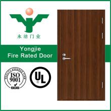 Natur Holz furniert Feuer Bewertet Holz Türen