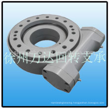 Solar Power System Worm gear reducer 650mm within slewing drive small gear reduction drive