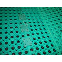 Plancher de pont de navire solide imperméable, tapis de pont composites à emboîtement