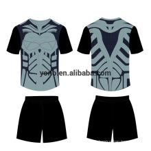 vierge nouveau design football jersey kit en gros football uniforme plus populaire uniforme scolaire