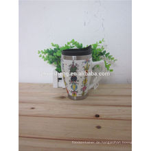 neue Produkte 2015 innovatives Produkt Promotion Keramik-Becher, Keramik Kaffeetasse