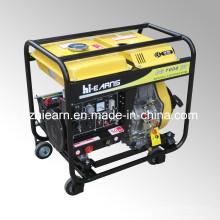 Ensemble de générateur de soudure diesel à quatre roues (DG7000EW)