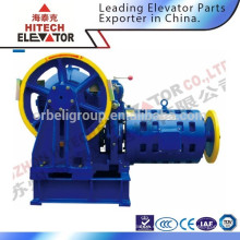 Máquina de tracción de elevador / Máquina engranada / 1000kgs de carga