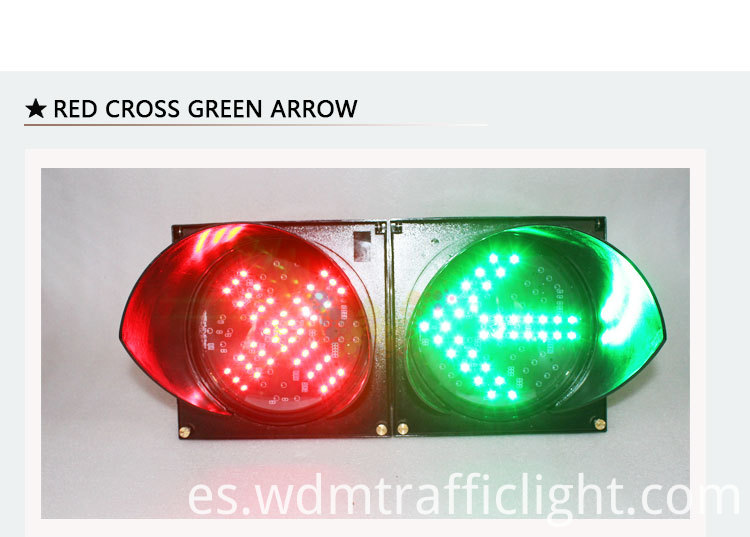 red cross green arrow traffic light-5