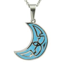 Enamel Pendant Moonlight Pendnat Stainless Steel Jewelry