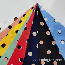 Four Way Spandex Dot Print Stoff