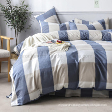 Home Bedding Cotton Fabric Bed Sheets New Product High Quality 4 PCS King Bed