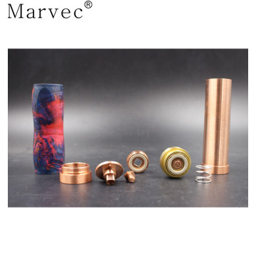 Marvec Stable Wood outer pipe vape mechanical mod