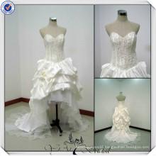 JJ0046 Sweetheart Designer Front Short Long Back Wedding Dresses