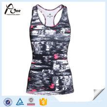 Gewohnheit Gold Gym Tank Top Stringer Kleider für Frauen