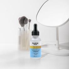 Ingrédient doux de sérum blanchissant ordinaire pour le visage