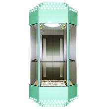Elevador de pasajeros de cristal para ver