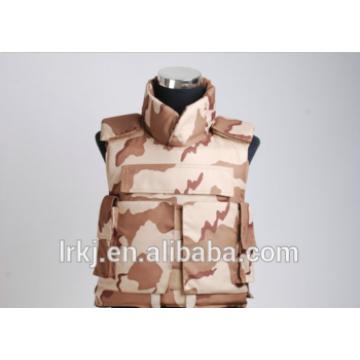 AK47 Plate Carrier Military Táctico de combate Ballistic Bulletproof Chaleco de armadura con cuello y hombro Protector