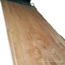 Piso de madeira maciça de bétula