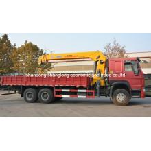 Sinotruk HOWO 6X4 10ton Truck with Crane (SQ10SK3Q)