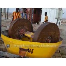 China Wet Pan Mill for Gold/ Edge Runner Wet Mill