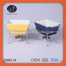 Chinesisches Fondue Set Fondue Maschine Fondue Schüssel, Fondue Topf, Keramik Fondue