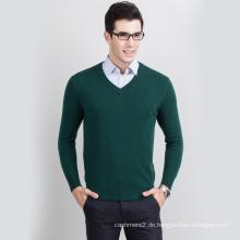 heißer Verkauf Anti-Falten-Computer stricken Männer Achselzucken Pullover