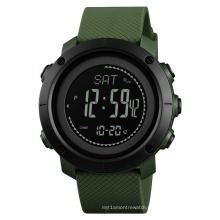 SKMEI 1427 Multifunction Compass Digital Watch Men Waterproof Sports Military Watches