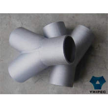 316 Stainless Steel Pipe Fitting Tee with CE