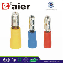 Bullet Shaped Male Pre-Insulating Terminal de cable serie MPD