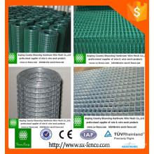 A venda quente Galvanized / PVC revestiu a cerca hexagonal do engranzamento de fio