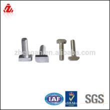 Galvanized Steel Hammer Head Bolts