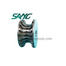 Roues profilées à diamant CNC (SA-017)