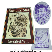 Fourniture de livre de tatouage de tatouage de mode de tatouage de magazine de tatouage de mode