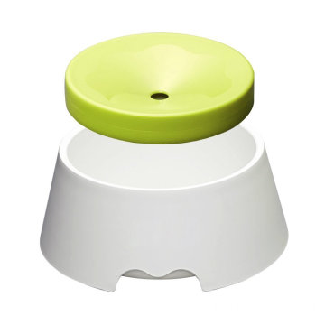 2in1 Anti Spill  Dust Pet Slowing Bowl