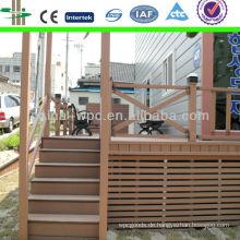 Bau-Projekt-Wpc-Geländer