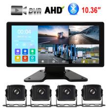 10,36-дюймовый сенсорный HD-экран Система мониторинга транспортных средств